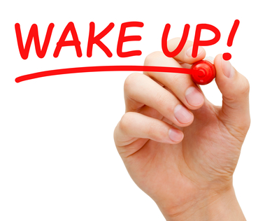 Vågn op og giv dig tid til at tænke, mærke og føle hvad du vil!